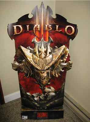 Diablo III 3 Display Stand BRAND NEW Sealed REALLY RARE Standee Blizzard
