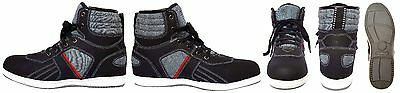 MENS Motorcycle Motorbike motocross sneaker HITECH Textile Shoes black grey red