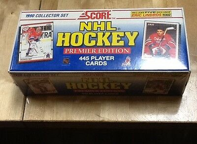 1990 Score NHL Hockey Premier Edition Collector Set Factory Sealed