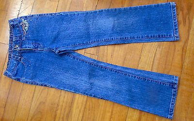 New Girls Jeans Size 6X GeGe Embroidered Pockets Very Cute