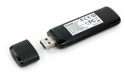 D-Link DWA-182 Wireless Dual Band Network Adapter AC1200 USB Wi-Fi for Computer