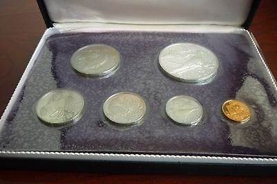 British Virgin Islands 1973 First Official Coinage - Proof Set