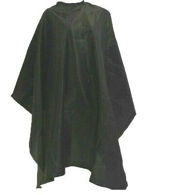 Hair Cape - Hairdressing Cutting Dye Cover Barber Gown Kids Unisex Adults UK