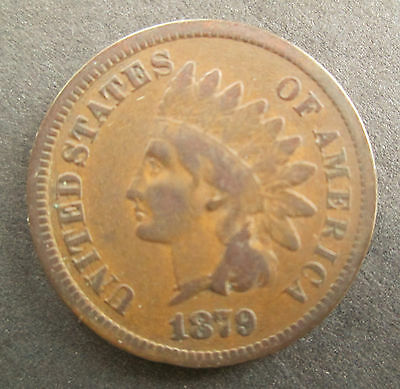 1879 Indian Head Cent - US Coin - Penny  NR