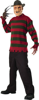 Nightmare On Elm Street Deluxe Freddy Costume Sweater Adult Standard