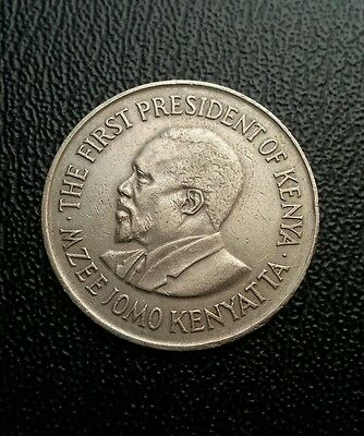 Kenya 1975 1 one shilling coin