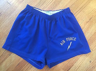Vintage 70s 80s Champion Air Force Military USA Gym Outdoor Shorts Sz.  L