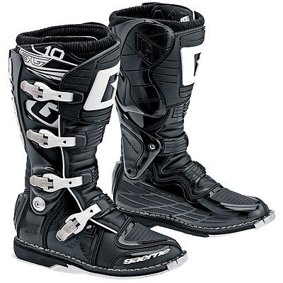 Gaerne SG-10 (G2) Off-Road MX ATV Motorcycle Boots All Black Size US 10