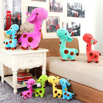 Cute Plush Giraffe Soft Toys Animal Dear Doll Baby Kids Children Birthday Gift