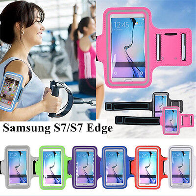 Gym Running Armband Case Sports Strap Case For iPhone 7 Plus 6s Samsung S7 Edge
