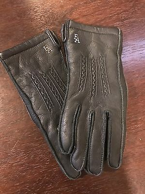 Women's Leather FA Gloves Very Warm Lining Size Small