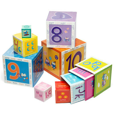 NEW Giggle & Hoot Stackable Learning Blocks