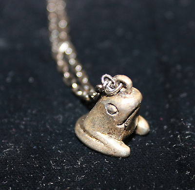 Silver Frog on chain