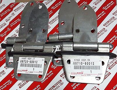 Genuine OEM Toyota Land Cruiser 40 Series BJ40 FJ40 Steel Door Hinges Set of 4