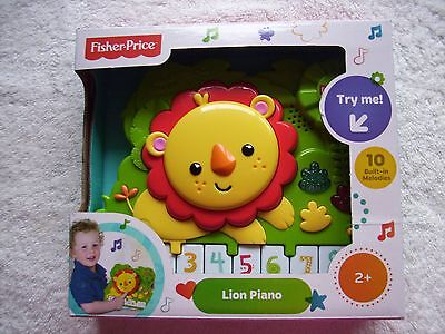 BNIB Fisher Price Lion Piano 2+