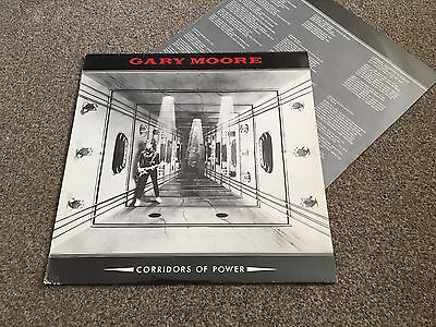 Gary Moore - Corridors Of Power - 1982 Lp With Inner Sleeve Ex - Look In Shop!!