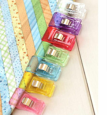 7 Colors Plastic Side Holder Sewing clips For Crafts Quilting Sewing Knitting