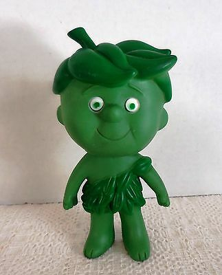 "Vintage 1970's Jolly Green Giant Little Sprout 6-1/2"" High Rubber Figure Toy"