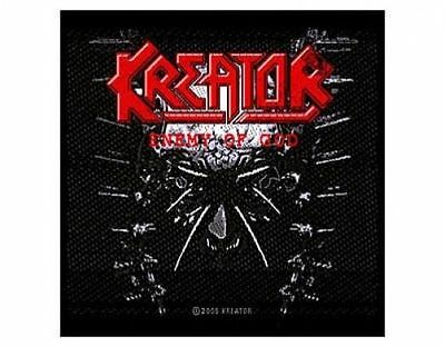KREATOR enemy of god 2005  - WOVEN SEW ON PATCH - free shipping