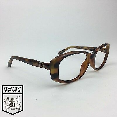 9cd166173275 TED BAKER EYEGLASS TORTOISE GOLD frame RECTANGLE Authentic. MOD 1314 ...