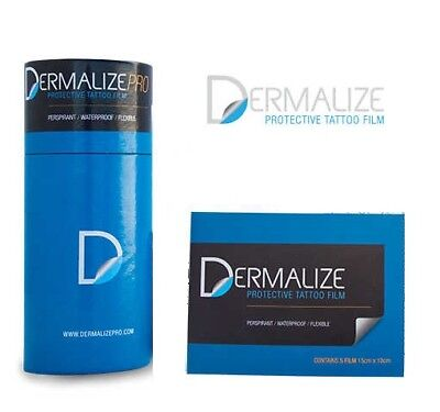 Dermalize Retail y Pro Roll - Curacion Tatuaje After Care Tattoo Film Protector