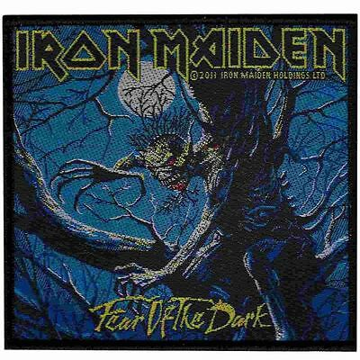 Iron Maiden Fear Of The Dark 2011 - WOVEN  PATCH - free shipping