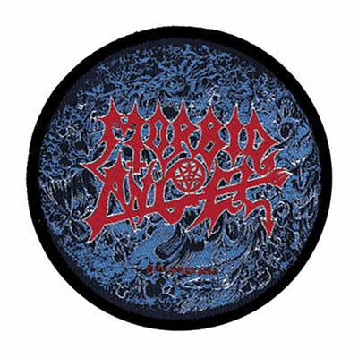 Morbid Angel 1991 round -WOVEN  PATCH - free shipping