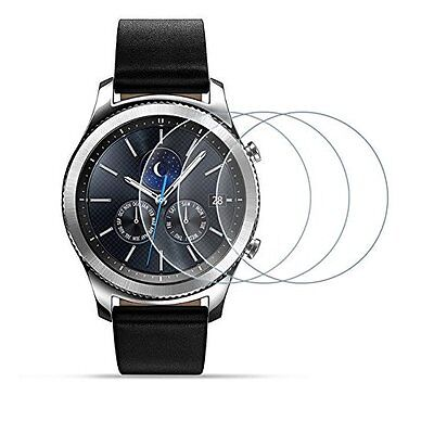 samsung gear s3 screen protector Glass Anti Scratch 3 Pack Tempered  Frontier