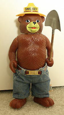 Smokey the Bear figure 70's Vintage Dakin