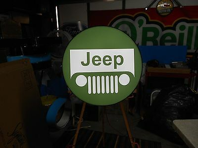 Jeep Lighted Sign