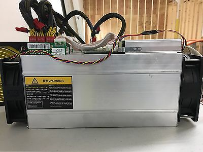 Lightly Used Bitmain Antminer S9 bitcoin miner BTC 11.85TH In Hand In the USA