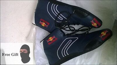 go kart Red Bull racing shoes with free Gift Balaclava