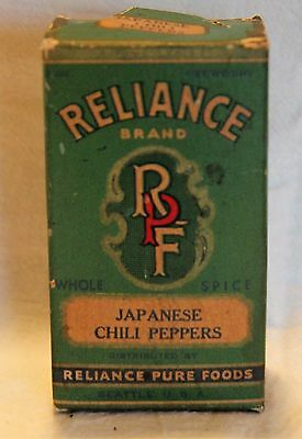 Reliance Spice Box Not Tin  Seattle