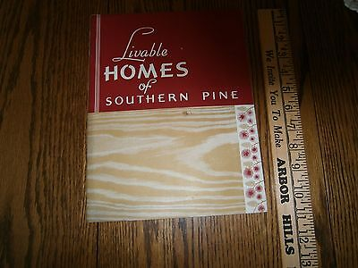 1945 Livable Homes Of Southern Pine House Plans New Orleans Louisiana La