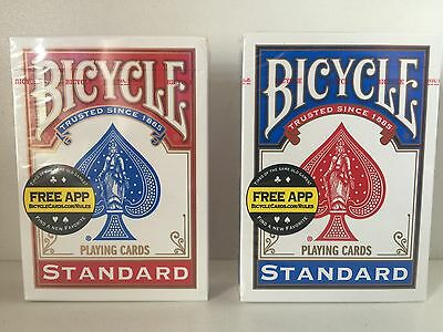 2 Decks Bicycle US Standard Playing Cards Trusted Poker Card Made in USA. F/Post