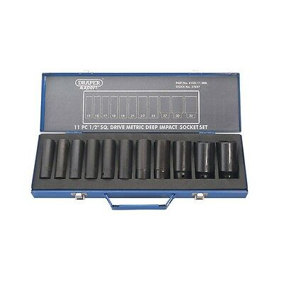 METRIC DEEP SOCKET SET 1/2 DR Draper Tools