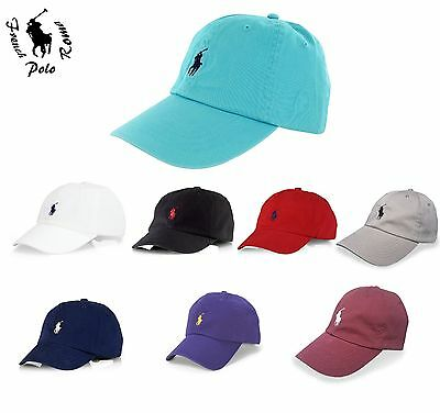 Men's Women Pony Classic Baseball Cap Hat Outdoor Sports Polo 100% Cotton