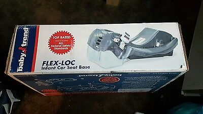 Baby Trend Flex-Loc Car Seat Base Black CB63100 BRAND NEW **FREE SHIPPING**  USA