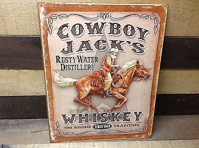 Other Collectible Ads Advertising Old Faithful Bootleg Whiskey Bar Vintage Look Sign