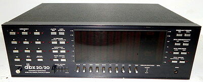 dbx 20/20 computerized equalizer analyzer