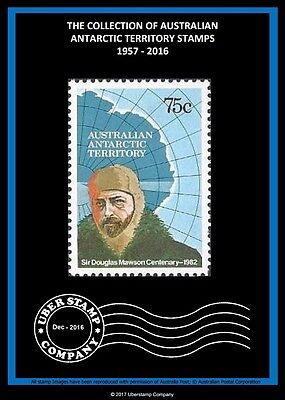 Digital Stamp Albums - Australian Antarctic Territory Vol 1 (1957 - 2016)