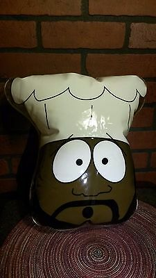 Vintage South Park Blowup Chef Pillow 1998 - Comedy Central