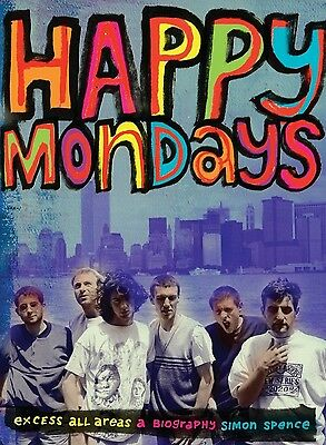 Happy Mondays Poster 4 - Various Sizes - Price Includes Uk Post