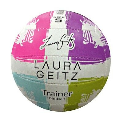 Reliance Laura Geitz TRAINER NETBALL Size-5, Superb Grip MULTI COLOUR *AUS Brand
