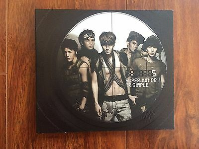 Super Junior Mr. Simple Version B (Kpop, SM, ELF) No Photocard