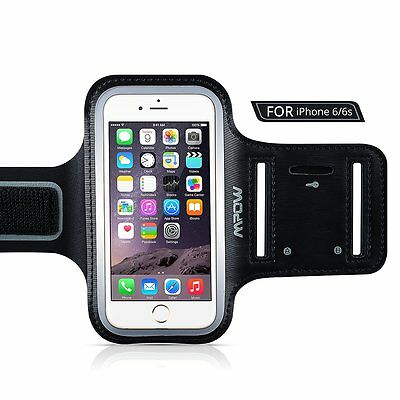 MPOW Running Sport Hiking Sweatproof Armband Case +Key Holder for iPhone 6/6s US