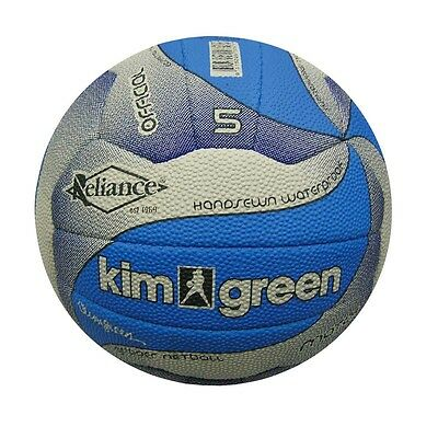 Reliance Kim Green TRAINING NETBALL Hand-Sewn DENIM*Australian Brand-Size 4 Or 5