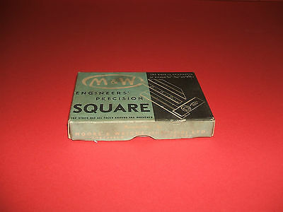 A box for the M & W  Precision Try Square cat. no. 416A