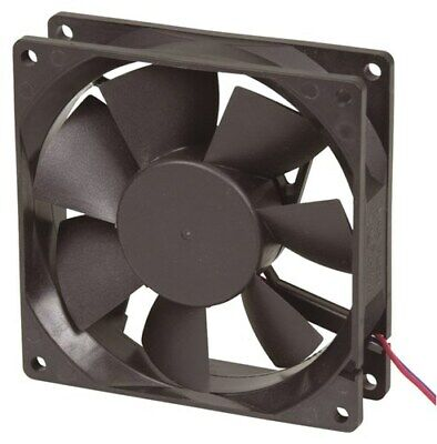 90mm 12V DC - 2 Wire Fan Size 90 x 90 x 25mm Air volume 59CFM