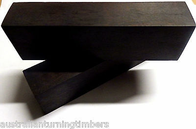 African Ebony Wood Knife Blocks